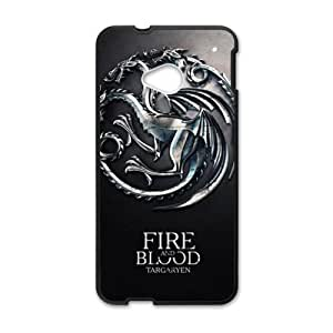 Fire Blood Cell Phone Case for HTC One M7
