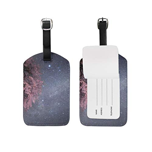 Luggage Tags 2 Pieces Set Beautiful Scenery Pleasant ...