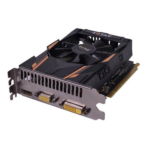 41kJsWbsSIL - ZOTAC GeForce GT 730 Graphics Video Card 1GB DDR5 PCI Express PCIe DVI VGA HDMI (Certified Refurbished)