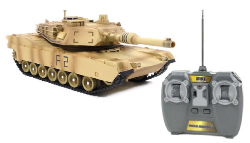 U.S. Armed Forces M1A2 Abrams 1:24 Electric RTR RC Tank