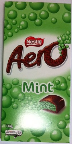 Nestle Aero Mint Chocolate 118g (Made in Australia) ()