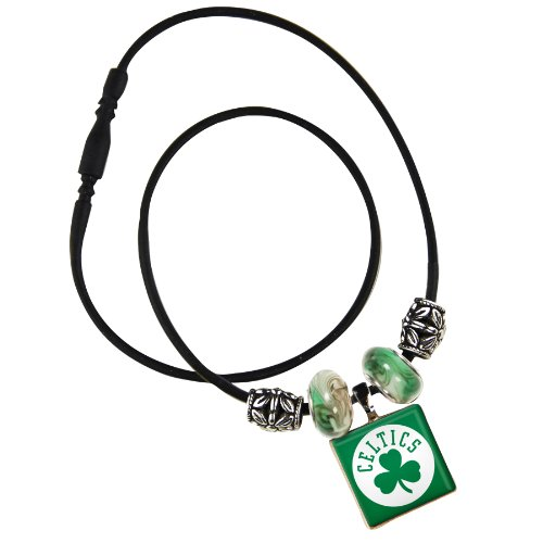 WinCraft NBA Boston Celtics Life Tiles Necklace with Beads by WinCraft