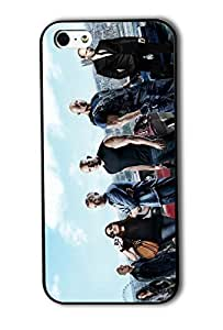Tomhousomick Custom Design Fast and Furious 7 Forever Jason Statham and Vin Diesel and Paul Walker Case Cover for iPhone 5 5S 2015 Hot New Style