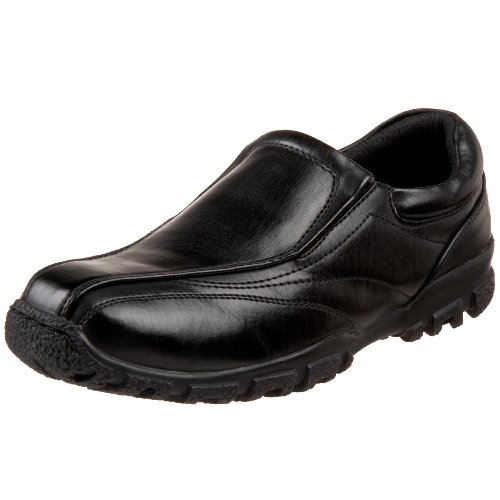 Boys Black School Shoes Size 6
