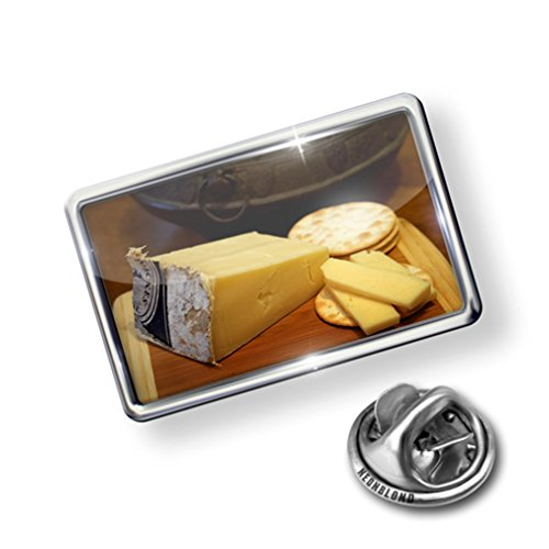 new Pin Cheese plate - Lapel Badge - NEONBLOND free shipping