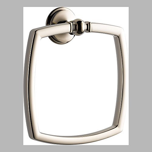 - Brizo 694685-PN Charlotte Towel Ring in Polished Nickel 694685-PN by Brizo