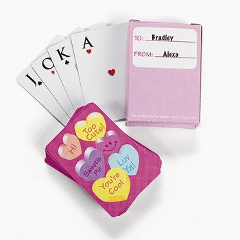 Mini Valentine Exchange Playing Cards