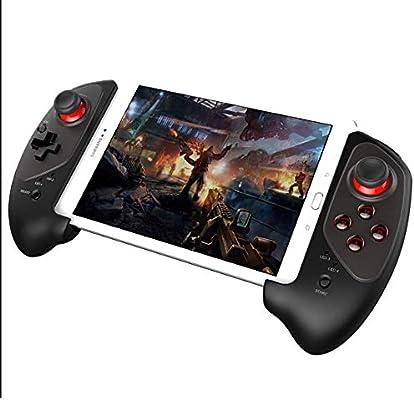 MQQ Adaptador sin Hilos del Juego Mobile 4.0 Joystick Gamepad con 5-10 Pulgadas telescópica Soporte for Android/iOS Smartphone Android Tablet PC Android Smart TV Box PC: Amazon.es: Electrónica