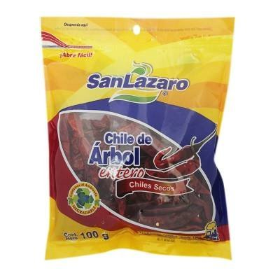 Amazon.com : Chile De Arbol - Mexican Whole Dried Arbol Chili Peppers - Pack of 2 Resealable Bag of 3.5 ounces each - : Grocery & Gourmet Food