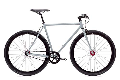 Pigeon Core-Line State Bicycle | Fixie Single Sped Fixed Gear Bike - Pigeon (Grey) X-Small (46 cm)