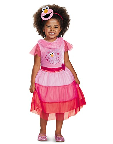 Pink Elmo Dress Classic Toddler Costume 2T -