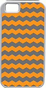 For SamSung Galaxy S3 Case Cover Diy Gifts Cover Zigzag Wave Orange and Grey - Ideal Gift