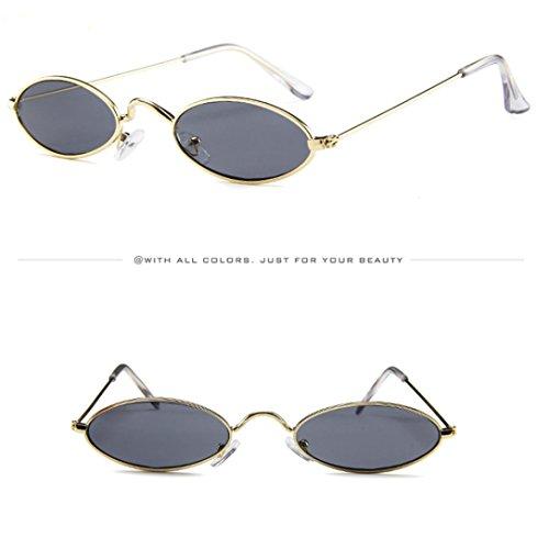 En Homme De Soleil Eyewear E La Cadre De MéTal Ovale Pour Mode Des Des Shades Lady Hommes Lunettes Hommes Petit Soleil Lunettes Unisexe Lunettes Vintage De HdqwSq