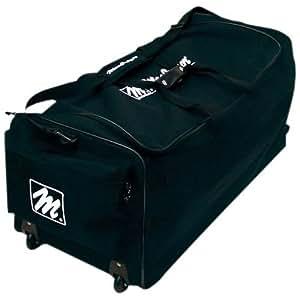 MacGregor Team Roller Equipment Bag, Black