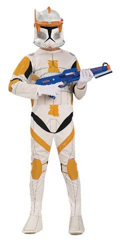 [Star Wars Clone Wars Clone Trooper Child's Commander Cody Costume, Small] (Clone Trooper Commander Cody Child Costume)
