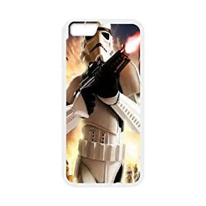 Star Wars iPhone 6 Plus 5.5 Inch Cell Phone Case White Exquisite gift (SA_562006)