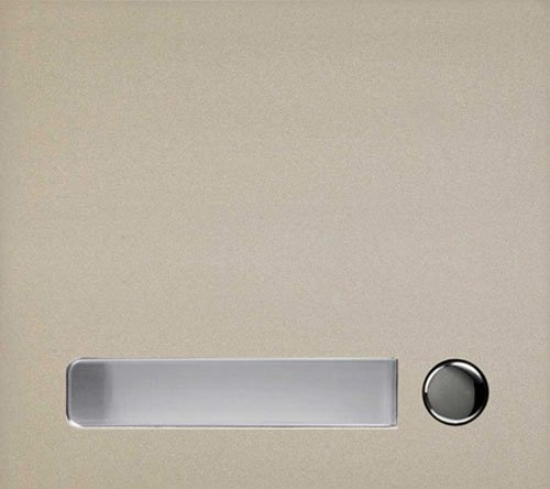 Aiphone GF-1P One Call Button Panel for the GF and GT Series Modular Multi-Tenant Entry Security System