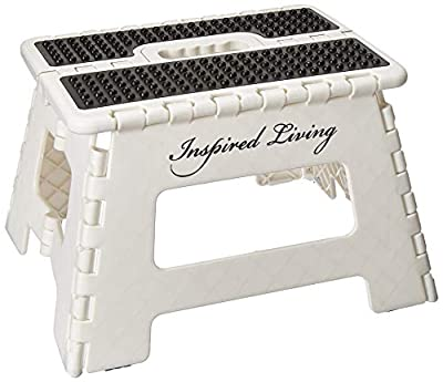 Inspired Living Folding Step stool Heavy Duty