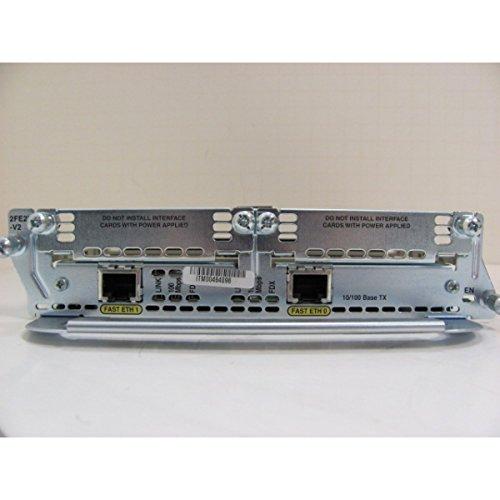 CISCO NM-2FE2W 2 10/100 ETHERNET 2 WAN CARD SLOT NETWORK MODULE
