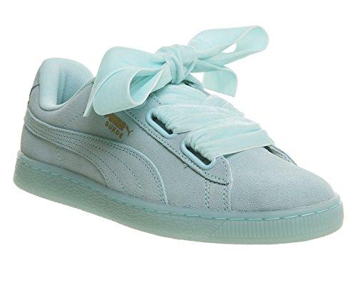 Sneakers Puma Scamosciate A Cuore Wns 36322902, Scarpe Da Ginnastica Blu (blu Aruba-blu Aruba)
