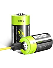 HITRENDS USB Rechargeable AA AAA Lithium Batteries