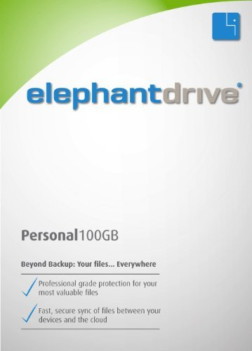 ElephantDrive for Mac - 100 GB Personal Edition for 1 Year [Download] by ElephantDrive