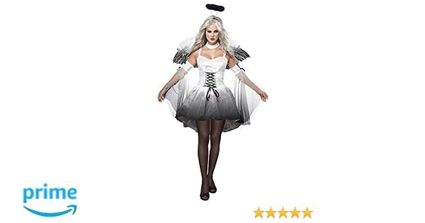 Clásico de Aimerfeel Mujeres caído ángel de cosplay del vestido con los trajes de alas Realizar Señora de Halloween y fiesta de Navidad, tamaño cupo ...