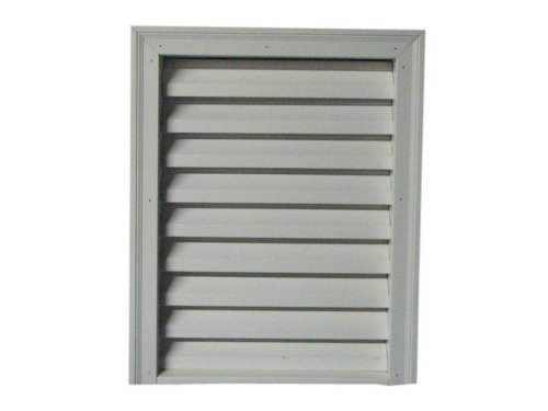 Rectangle Vent with Brick Mould, PVC, 16