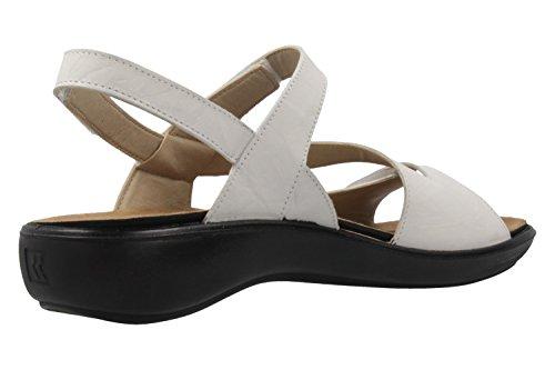 ROMIKA - Damen Sandalen - Ibiza 70 - Weiß Schuhe in Übergrößen