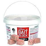JT Eaton 704-AP Block Rodenticide Anticoagulant Bait Flavor Mice Rats (Pail 64), Apple