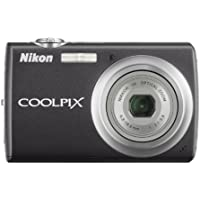 Nikon Coolpix S220 10MP Digital Camera with 3x Optical Zoom and 2.5 inch LCD (Graphite Black) Benefits Review Image