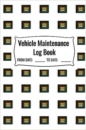 Motors Vehicle Parts & Accessories Motorcycle Maintenance Log Book ...