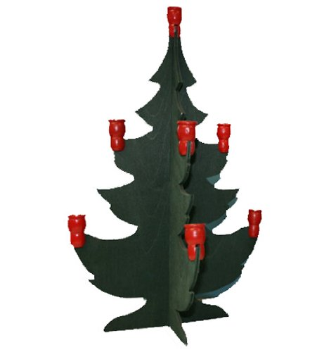 Swedish Christmas Tree Candleholder - 13''