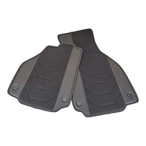 Alcantara + Eco Leather Designer Floor Mats Fits Ferrari - Select Model