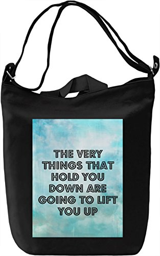 Lift You Up Borsa Giornaliera Canvas Canvas Day Bag| 100% Premium Cotton Canvas| DTG Printing|