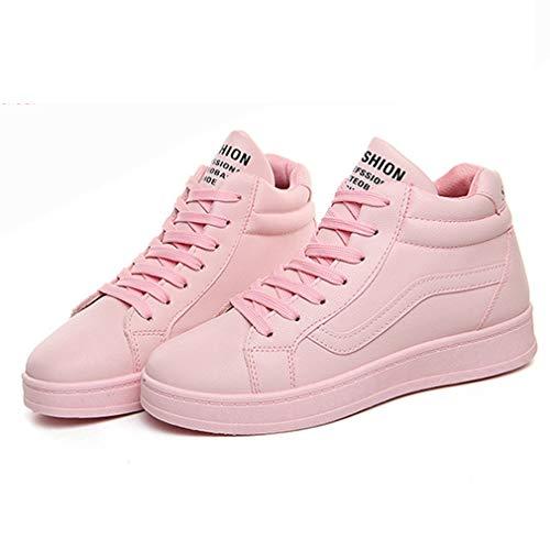 Weiße Neue Schuhe Schuhe Casual Sommer Wild B Deck High Exing Sneaker Schnürschuh Schuhe PU Kleine Damen Neue Schuhe Herbst Damen Top Akademie wxYSxAqX
