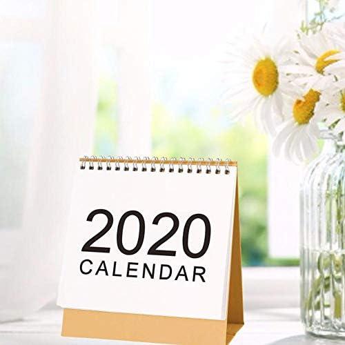 Desktop Kalender Schreibtisch Kalender Monatskalender Tischkalender September 2019 – Dezember 2020 Monatlicher Tisch Stand Up Office Tischplaner Datum Notizblock Lehrer Familie Oder Geschäftsstelle
