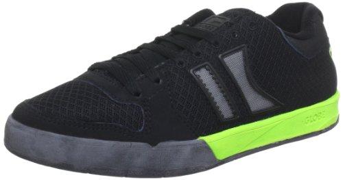Globe Lift GBLIFT, Sneaker unisex adulto Nero (Schwarz (Black/Fluoro Green 10331))