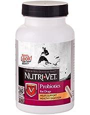 Nutri-Vet masticación Blanda probiótico para Perros, 60 Unidades