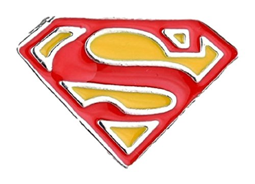 New Horizons Production Superman Super Hero 3/4″ Tall Metal Enamel Costume Cosplay Pin ()