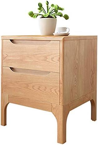 YD ベッドサイドテーブル、モダンなミニマリストの実用的なミニベッドルームのベッドサイド収納キャビネット、リビングルーム/ベッドルーム/書斎に適した、42 x 40 x 50 cm