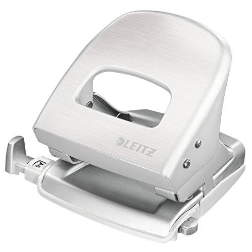 Leitz 50066004 Bürolocher NeXXt Style Metall Bürolocher NeXXt Style, Metall, 30 Blatt, Blisterverpackung, arkitik-weiß