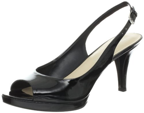 Franco Sarto Womens Prance Pump Black Patent