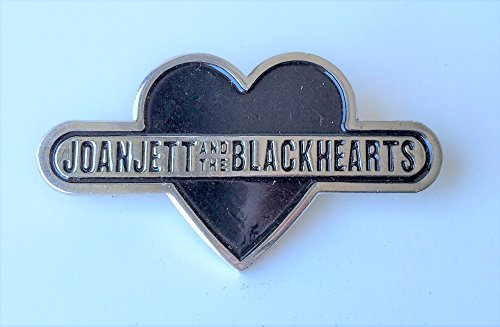 Jett Set - Joan Jett and the Blackhearts SET OF TWO - Heavy Duty Promotional Pins - VINTAGE