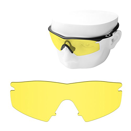 OOWLIT Replacement Sunglass Lenses for Oakley M Frame Strike HD - Oakley Yellow Frame Sunglasses