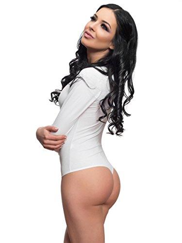 Evoni - Body - para mujer Weiß