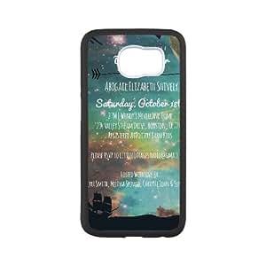 Peter Pan Samsung Galaxy S6 Cell Phone Case Black xlb-068992