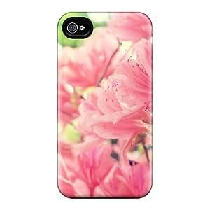 New Tpu Hard Case Premium Iphone 4/4s Skin Case Cover(nature Flowers Bright)