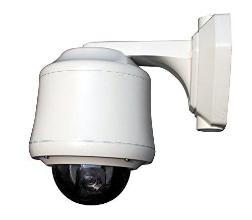 Wonwoo PSO-120NAW Outdoor Mini PTZ Wall Mount Dome Camera; 1/4