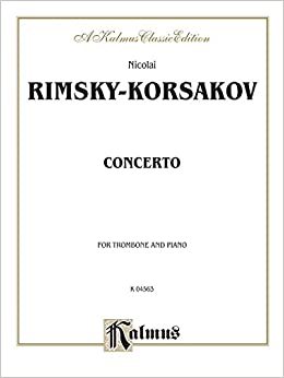 |NEW| Trombone Concerto: Part(s) (Kalmus Edition). rights United Custom against Sector Venta